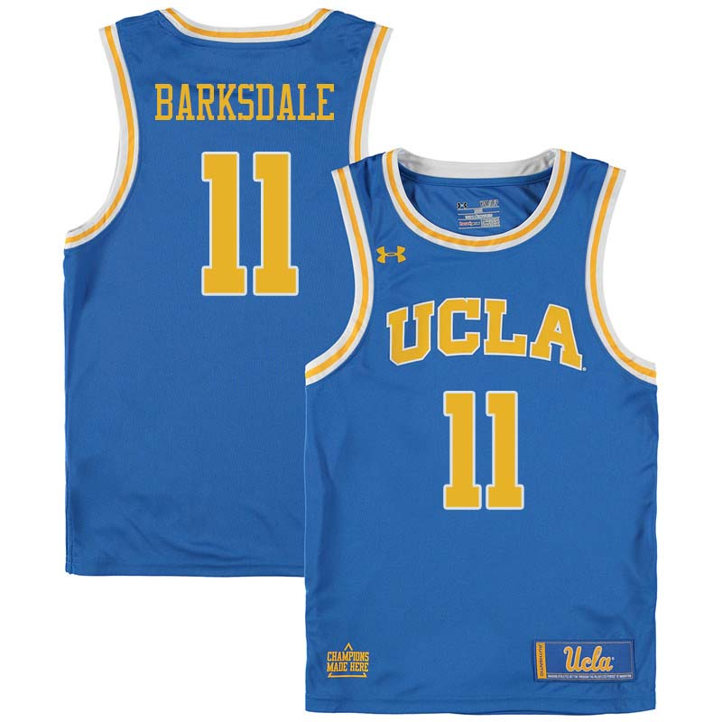 Men #11 Don Barksdale UCLA Bruins College Basketball Jerseys Sale-Blue