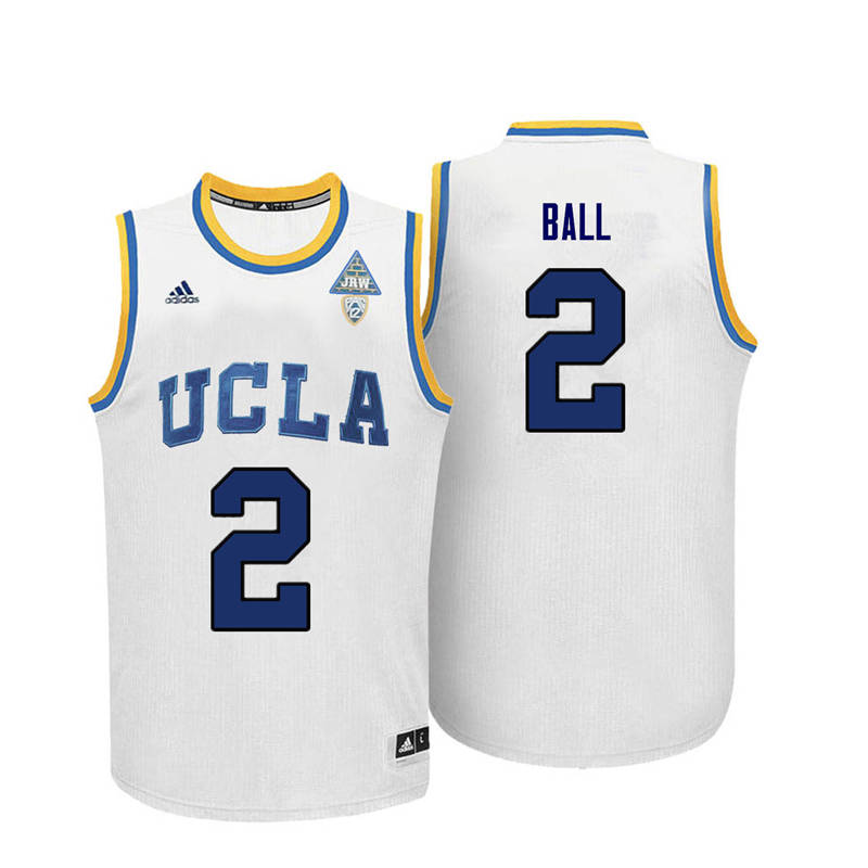 newest 6abe2 a670f Lonzo Ball Jerseys UCLA Bruins College Basketball Jerseys ...