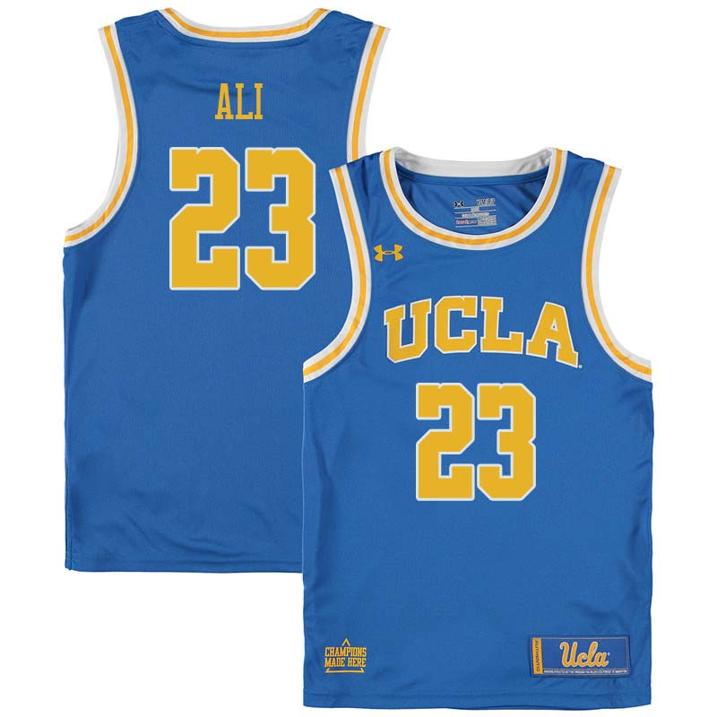 Men #23 Prince Ali UCLA Bruins College Basketball Jerseys Sale-Blue