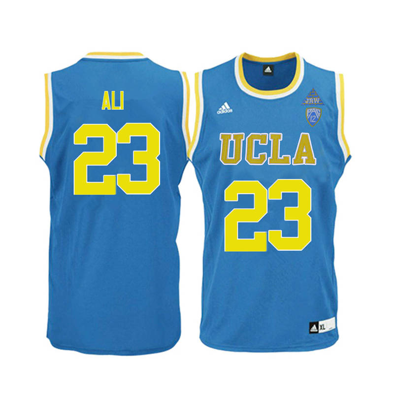 Men UCLA Bruins #23 Prince Ali College Basketball Jerseys-Blue