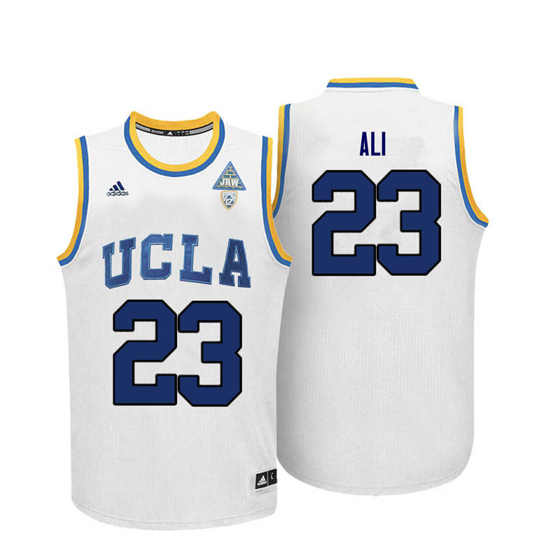 Men UCLA Bruins #23 Prince Ali College Basketball Jerseys-White