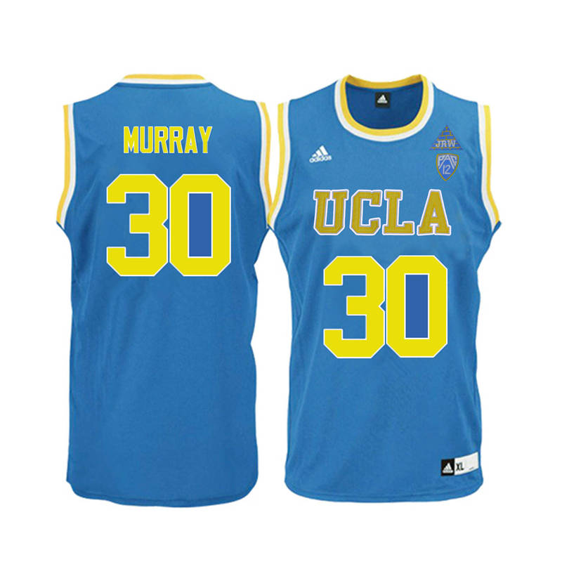 Men UCLA Bruins #30 Tracy Murray College Basketball Jerseys-Blue