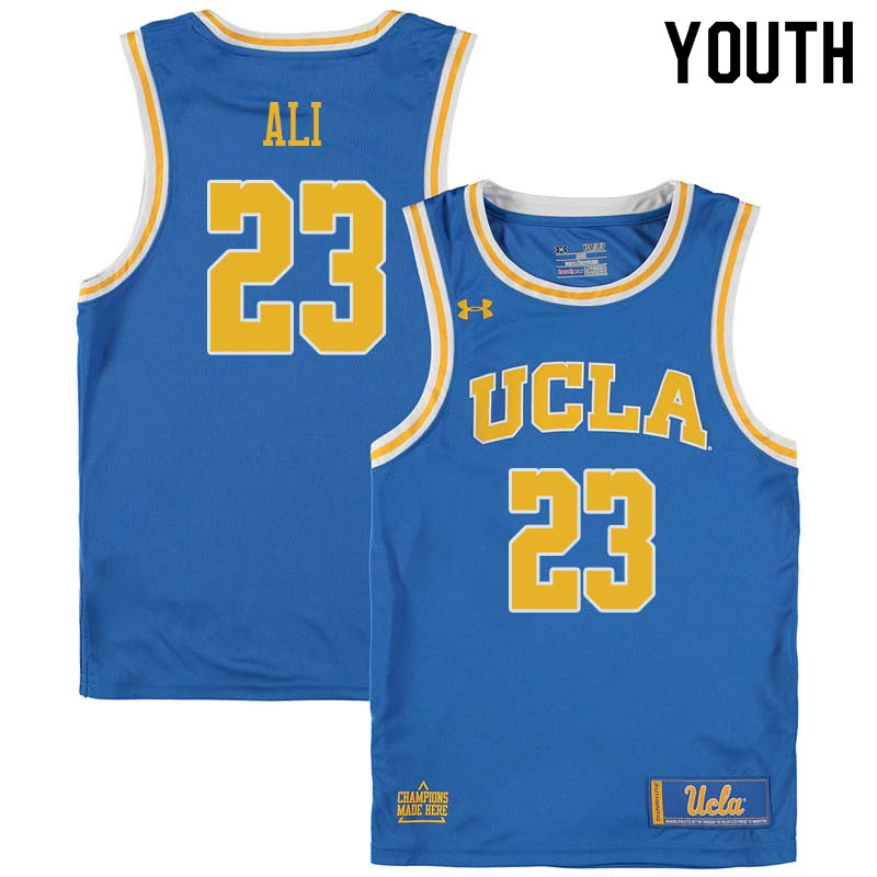 Youth #23 Prince Ali UCLA Bruins College Basketball Jerseys Sale-Blue